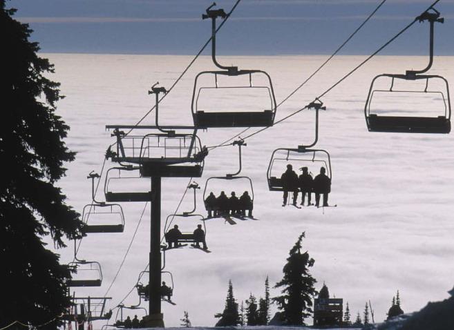ski lift skiing snowboarding - photo #18