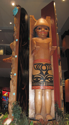 Tulalip welcome pole