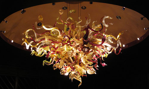 Tulalip chandelier