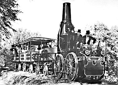 THE ADVENTURES OF TRAIN TRAVEL IN AMERICA! First Photograph 1830
