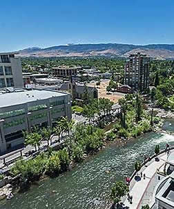 Truckee River in Reno
